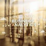 Biznesowy analityki pojęcie na dwoistego ujawnienia tle Obrazy Royalty Free