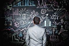 Biznesowy blackboard Zdjęcie Stock