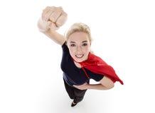 Biznesowy bohater Fotografia Stock
