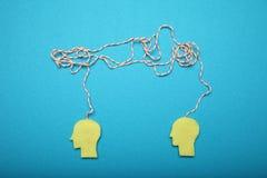 Biznesowy brainstorm pojęcie, stres i depresja, obrazy royalty free