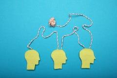 Biznesowy brainstorm poj?cie, stres i depresja, obrazy royalty free