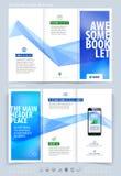 Biznesowy broszurki i pokrywy projekta układu szablon Wektorowy illus Zdjęcie Stock