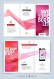 Biznesowy broszurki i pokrywy projekta układu szablon Wektorowy illus Obrazy Stock