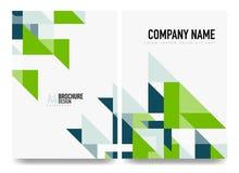 Biznesowy broszurki pokrywy układ, ulotki a4 szablon ilustracja wektor