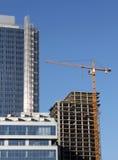 Biznesowy budynek w budowie Fotografia Royalty Free