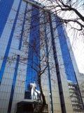 Biznesowy budynek w Maslak Sariyer Istanbuł obraz stock