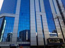 Biznesowy budynek w Maslak Sariyer Istanbuł fotografia stock
