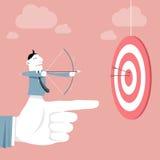 Biznesowy cel & sukces Fotografia Stock