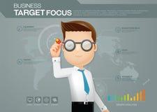Biznesowy celu sukces Fotografia Stock