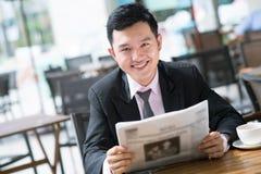 Biznesowy czytelnik Zdjęcia Stock