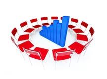 biznesowy diagram Obraz Stock