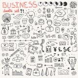 Biznesowy Doodle elementu set Fotografia Stock