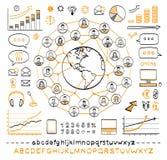 Biznesowy doodle pojęcie Fotografia Stock