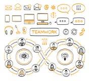 Biznesowy doodle pojęcie Obraz Stock