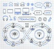 Biznesowy doodle pojęcie Obrazy Stock