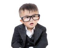 Biznesowy dziecko portret fotografia stock
