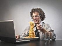 Biznesowy gość restauracji zdjęcia stock