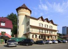 Biznesowy Hotelowy Rosja w kurorcie Belokuriha Fotografia Stock