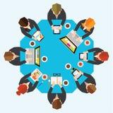Biznesowy i Biurowy Wektorowy projekt Fotografia Stock