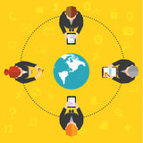 Biznesowy i Biurowy Wektorowy projekt Zdjęcia Stock