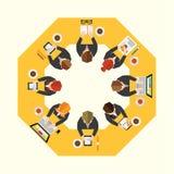 Biznesowy i Biurowy Wektorowy projekt Obraz Royalty Free