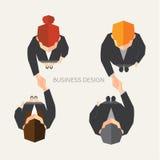 Biznesowy i Biurowy Wektorowy projekt Fotografia Royalty Free