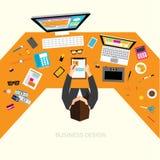 Biznesowy i Biurowy Wektorowy projekt Zdjęcie Royalty Free