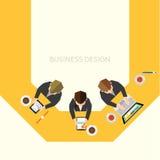 Biznesowy i Biurowy Wektorowy projekt Zdjęcie Stock