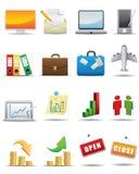 biznesowy ikony setu wektor ilustracja wektor