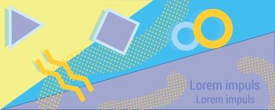 Biznesowy imię karty szablonu handlowy projekt Obrazy Royalty Free