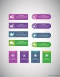 Biznesowy Infographic Fotografia Royalty Free