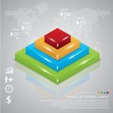 Biznesowy Infographic Fotografia Stock