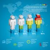 Biznesowy Infographic Zdjęcia Stock