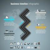 Biznesowy Infographic Obraz Stock