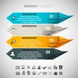 Biznesowy Infographic royalty ilustracja