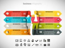 Biznesowy Infographic ilustracji