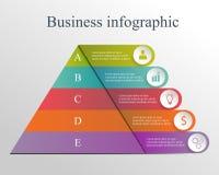 Biznesowy Infographic Obrazy Royalty Free