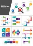 Biznesowy Infographic element dla prezentaci Obraz Stock