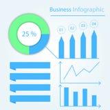 Biznesowy Infographic Prezentacja szablon dla twój projekta Round mapa z procentem prętowa mapa mapy pojęcia rysunkowy żeński ręk Obraz Royalty Free