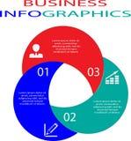 Biznesowy infographic szablon Obraz Royalty Free