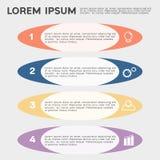 Biznesowy infographic szablon ilustracja wektor
