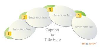 Biznesowy infographic szablon Obraz Stock