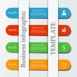 Biznesowy infographic szablon Obrazy Stock
