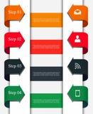 Biznesowy infographic szablon Zdjęcie Royalty Free