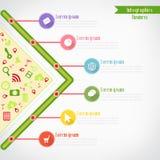 Biznesowy Infographics Zdjęcia Royalty Free