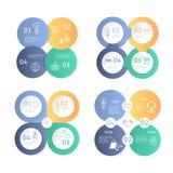 Biznesowy Infographics Fotografia Stock
