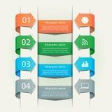 Biznesowy infographics szablon Zdjęcia Royalty Free