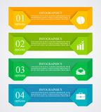Biznesowy infographics szablon Fotografia Stock