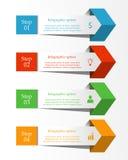 Biznesowy infographics sztandar Obrazy Royalty Free