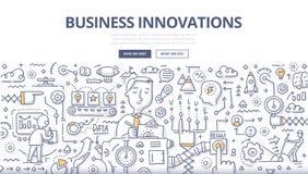 Biznesowy innowaci Doodle pojęcie Obrazy Royalty Free